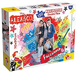 Lisciani Giochi 57221 - Puzzle DF Supermaxi 150 Alex & Co New Pop