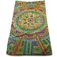 ewtretr Toallas De Mano, Kaleidoscope Painting Microfiber Beach Towel Large & Oversized - 11.8