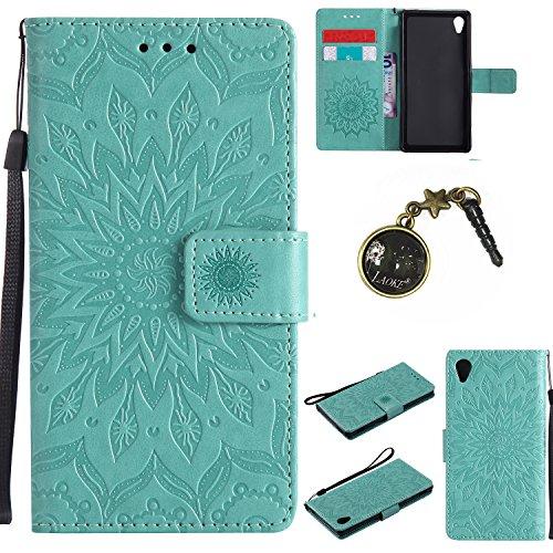 Preisvergleich Produktbild PU Silikon Schutzhülle Handyhülle Painted pc case cover hülle Handy-Fall-Haut Shell Abdeckungen für Sony Xperia M4 Aqua +Staubstecker (1FF)
