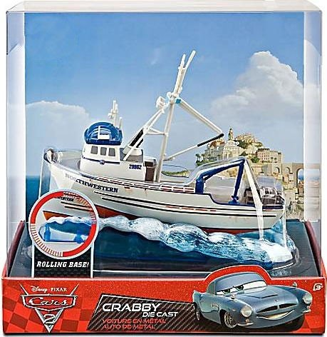 Disney / Pixar CARS 2 Movie Exclusive 7 Inch Die Cast Figure Crabby
