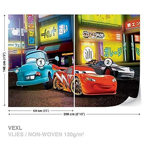 Disney Cars FOTOTAPETE FOTOTAPETEN WANDBILD