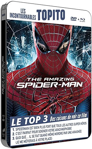 the-amazing-spider-man-boitier-mtal-collection-topito-combo-bd-dvd-blu-ray-blu-ray-dvd-dition-botier