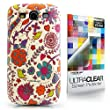 CaseiLike� Floral Blossom, Snap-on hard case back cover for Samsung Galaxy S3 S 3 S III SIII i9300 with Screen Protector