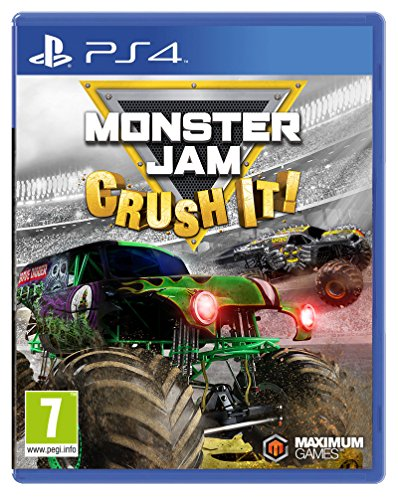 Monster Jam - Crush It (Playstation 4) [UK IMPORT] (Monster Truck Ps4)