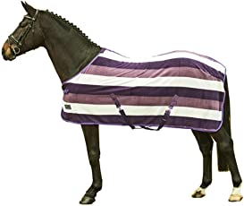 HKM 550797 Abschwitzdecke Fashion Stripes mit Kreuzgurt