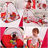 Tende giocattolo,Indoor / Outdoor Tunnel gioco e Play Tent Cubby-Tube-tenda...