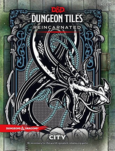 D&D DUNGEON TILES REINCARNATED: CITY par Wizards RPG Team (designer)