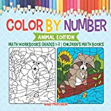 Best Baby Professor Baby Learning Books - Color by Number: Animal Edition - Math Workbooks Review