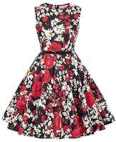 La robe rétro de fille est sans nul doute un article nécessaire, style simple mais plein tempérament C'est la préférence pour les petite filles. Cette robe est de bonne qualité, confortable et un peu élastique  C'est confortable et sain à porter. La ...