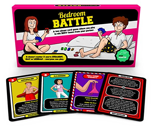 Bedroom Battle - The Sex Game for Couples - Valentines Brettspiel
