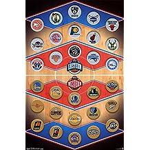NBA - Logos 15 Artistica di Stampa (60,96 x 91,44 cm)