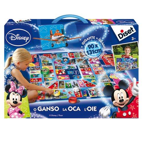 Diset 46579–Brettspiel–Gänsespiel Riesen Disney