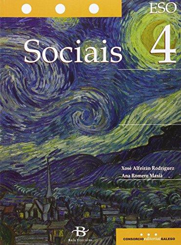 Sociais de 4º de ESO (Libro de texto) por Xosé Alfeirán Rodríguez