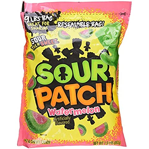 Sour Patch Soft & Chewy Candy Watermelon,