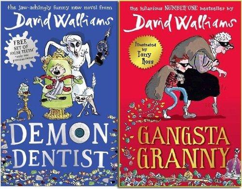 Demon Dentist [Hardcover] & Gangsta Granny [Paperback]