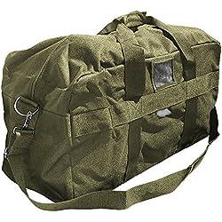 US Army AIRFORCE BAG Große Sport- und Reisetasche Nylon 57L in 3 verschiedenen Farben (Oliv)