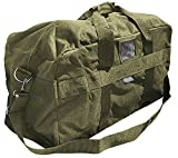 Commando Industries US Army AIRFORCE BAG Große Sport- und Reisetasche Nylon 57L in 3 (Oliv)
