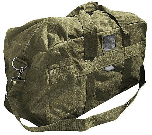 US Army AIRFORCE BAG Große Sport- und Reisetasche Nylon 57L in 3 verschiedenen Farben (Oliv) (Us Air Force)