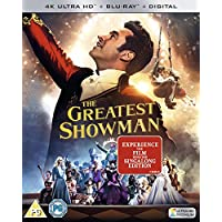 The Greatest Showman [ Blu-ray 4K + Blu-ray + Digital Download] [2017] Movie Plus Sing-along
