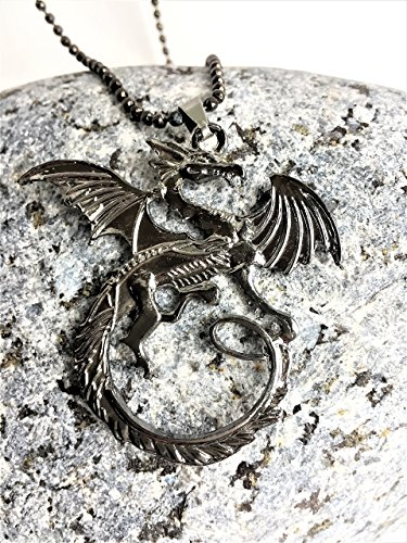 dragon-necklace-inspired-by-game-of-thrones-in-gloss-black-finish