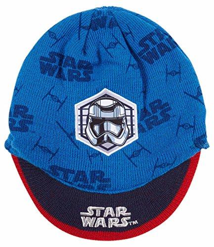 Star Wars-The Clone Wars Darth Vader Jedi Yoda Jungen Mütze - blau - 52