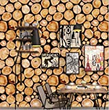 PLYY D Restaurant ktv Tapete einfarbig dekorative Tapete wasserdicht PVC Selbstklebende Holzstange bar Dekoration grüne Tapete, A
