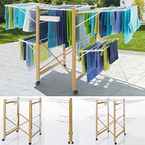 Probache - Séchoir Deluxe Design Imitation Bois...