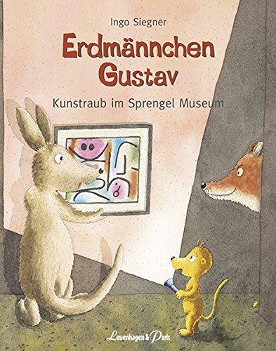 Erdmännchen Gustav Kunstraub im Sprengel Museum