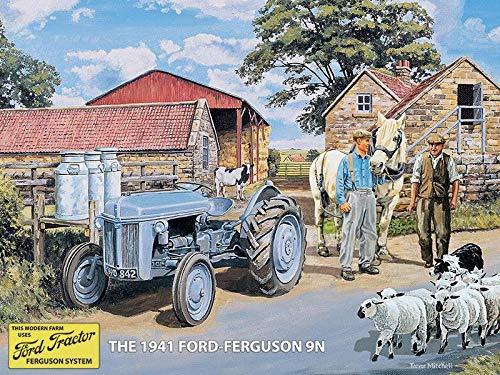 Harrington Marley Ford Ferguson 9N Wandschild, Blechschild, Garage, Schuppen, Traktor, Geschenk