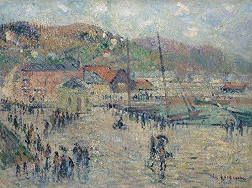 Das Museum Outlet-Grand Quay, Fecamp, 1925-Leinwanddruck Online kaufen (76,2x 101,6cm)