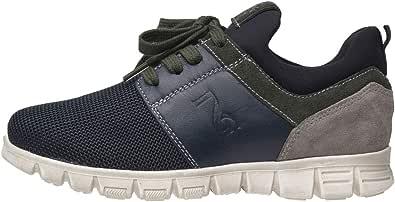 Nero Giardini A833290M Sneakers Teens da Ragazzo in Pelle, Camoscio E Tela