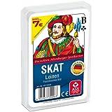 ASS 22570006 Skat Kortspel, 6.6 x 9.8 x 1.8 cm