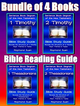 Bundle of 4 Books  1   2 Thessalonians and 1   2 Timothy