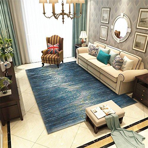 Tapis rectangulaires antidérapants tapis de Fashiom tapis d'impression dans la chambre à coucher et salon table de chevet tapis de table lavable (taille : 200 * 280cm)