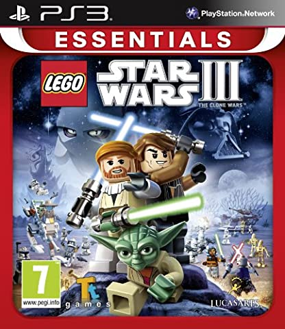 LEGO Star Wars III Clone Wars Essentials (Playstation 3) [UK IMPORT]