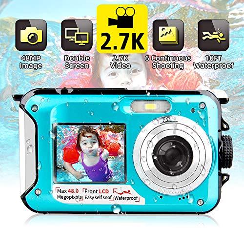 Descripción del producto:   Nuestras cámaras digitales impermeables son tan ligeras y fáciles de usar que los niños y los adultos pueden llevarlas a cualquier parte, en cualquier momento y en cualquier lugar y capturar momentos felices. Puede usarlo...