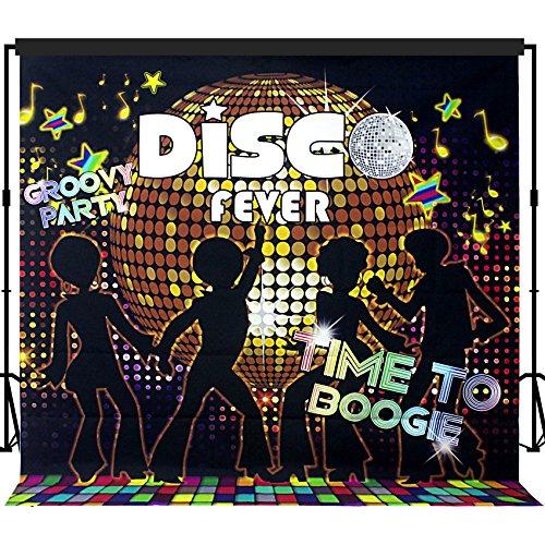 musykrafties Disco Party Hintergrund Banner Szene Setter 7X 7ft