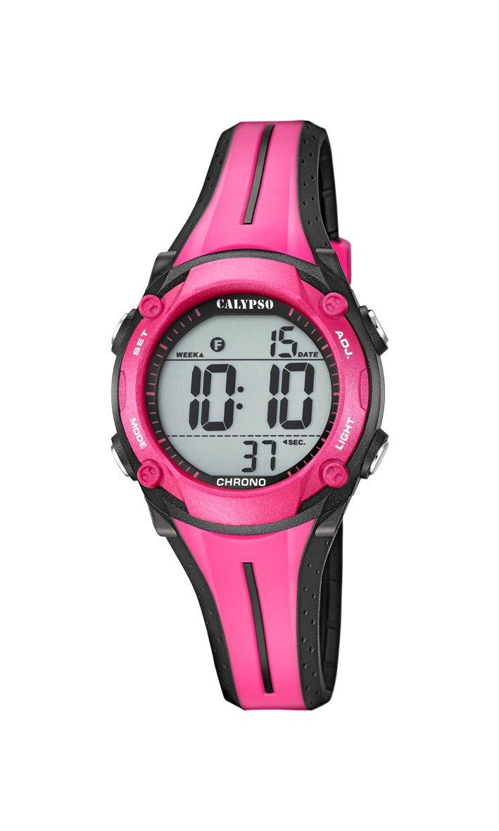 Calypso Reloj Digital para Unisex de Cuarzo con Correa en Plástico K5682/9