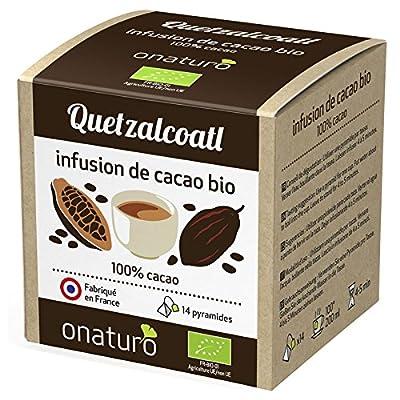 Infusion 100% cacao criollo 42g bio, 14 pyramides