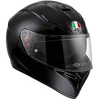 AGV K3 SV E2205 Mono 0301A4MY_003_XS Casco Moto, Nero, XS