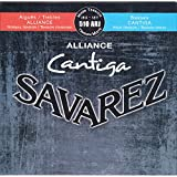 Savarez Alliance Cantiga 510ARJ Jeu de Cordes pour Guitare classique