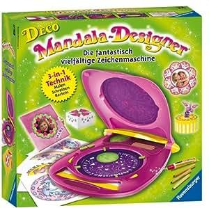 ravensburger 18565 appareil dessiner deco mandala designer jeux et jouets. Black Bedroom Furniture Sets. Home Design Ideas