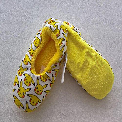 W7XY Pour des hommes antidérapant intérieur la laine Doublure chaussons en bonne santé doux chaussettes 40