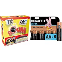 Asmodee - TTB01S - Tic Tac Boum - Jeu d'Ambiance avec Duracell MX1500 - Ultra Power Piles Alcalines Type AA, Lot de 8…