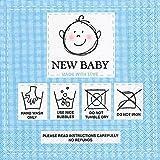 Paper+Design GmbH Serviette New Baby Blau 20 Stück