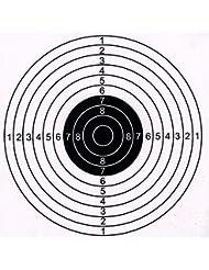 Target Paper 50 Pieces Per Pack 5.5''x5.5''(14x14cm) (D)