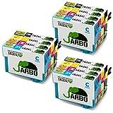 JARBO 163XL Ersetzt für Epson 16XL 16 Druckerpatronen (3 Schwarz, 3 Blau, 3 Rot, 3 Gelb) für Epson WorkForce WF-2630 WF-2530 WF-2760 WF-2510 WF-2010 WF-2650 WF-2520 WF-2660 WF-2750 WF-2540