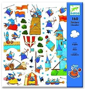Djeco - Stickers Chevaliers