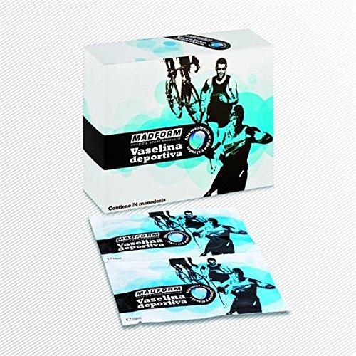 Vaselina Deportiva, caja 24 monodosis de 10 ml