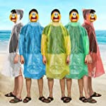 Kany Emergency Disposable Rain Poncho...